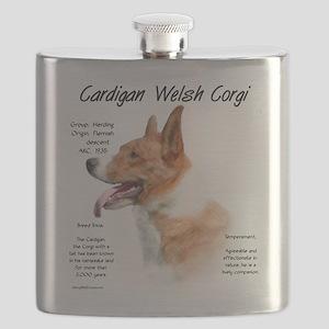 Cardigan Welsh Corgi Flask