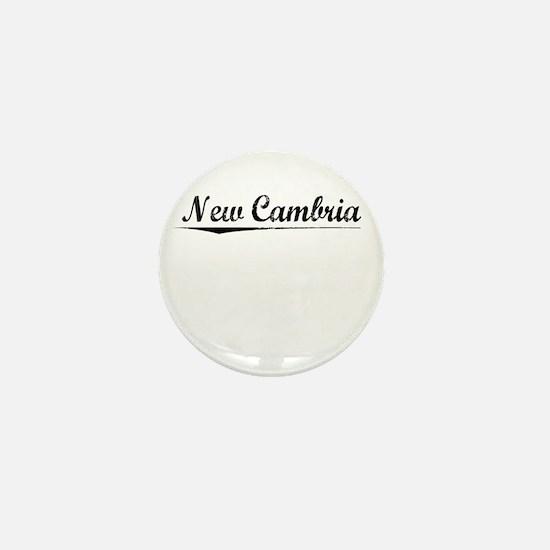 New Cambria, Vintage Mini Button