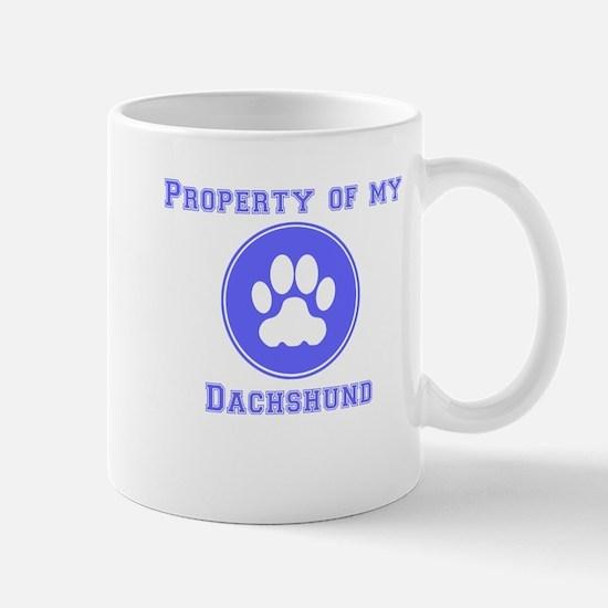 Property Of My Dachshund Mugs