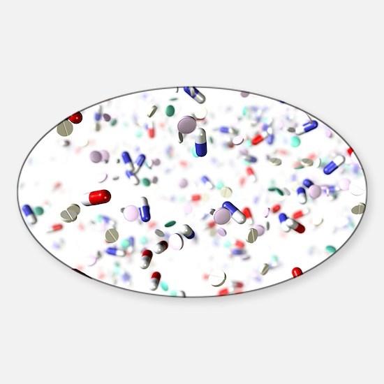 Pills Sticker (Oval)