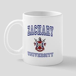 ZACHARY University Mug