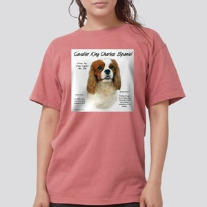 Cavalier (Blenheim) Womens Comfort Colors Shirt