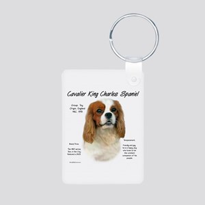 Cavalier (Blenheim) Aluminum Photo Keychain