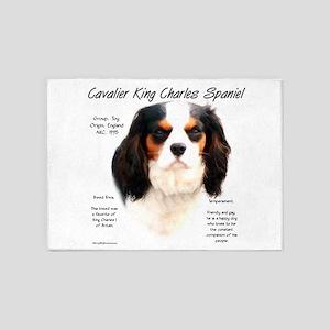 Cavalier (tricolor) 5'x7'Area Rug
