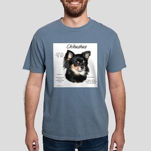 Chihuahua (longhair) Mens Comfort Colors Shirt