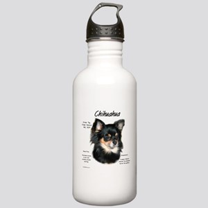 Chihuahua (longhair) Stainless Water Bottle 1.0L