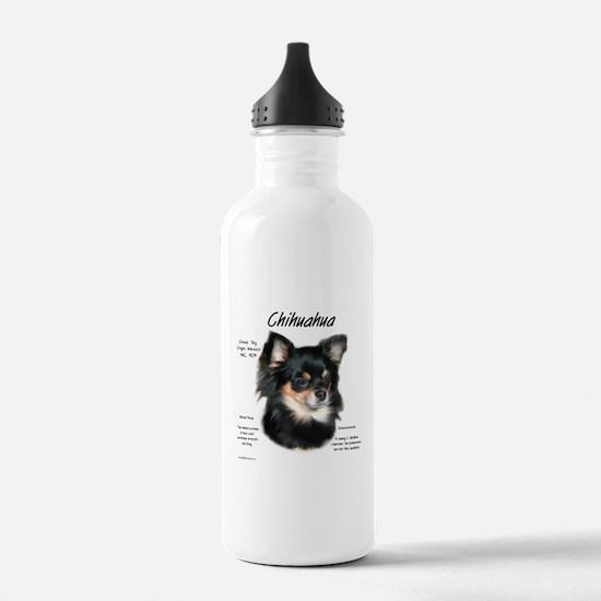 Chihuahua (longhair) Water Bottle