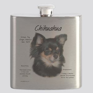 Chihuahua (longhair) Flask