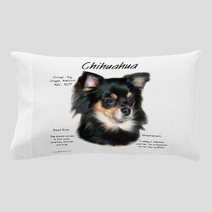 Chihuahua (longhair) Pillow Case