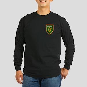 O'Grady Ancestry Crest Long Sleeve Dark T-Shirt