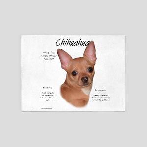 Chihuahua 5'x7'Area Rug