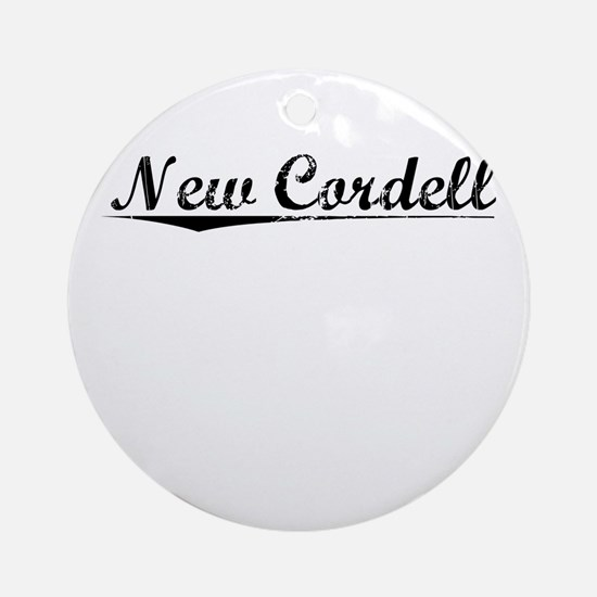 New Cordell, Vintage Round Ornament
