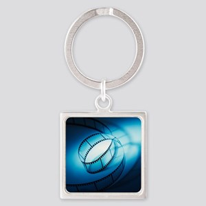 Photographic film Square Keychain