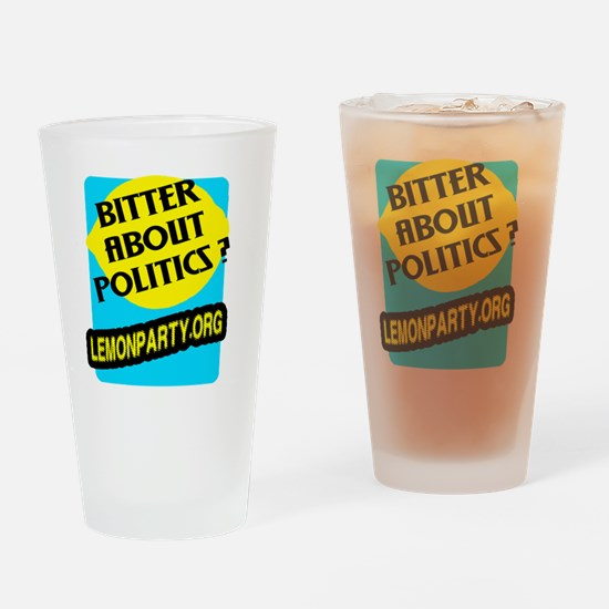 Lemon Party Drinking Glass
