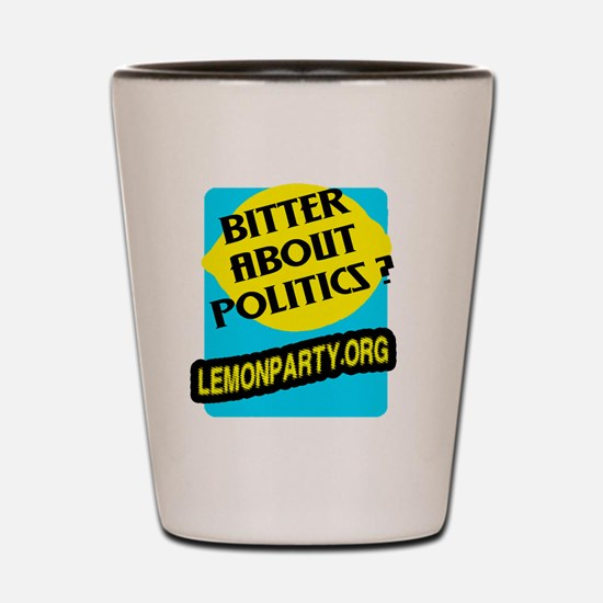 Lemon Party Shot Glass