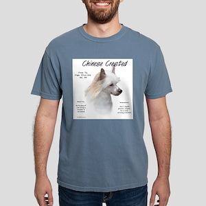 Powderpuff Crested Mens Comfort Colors Shirt