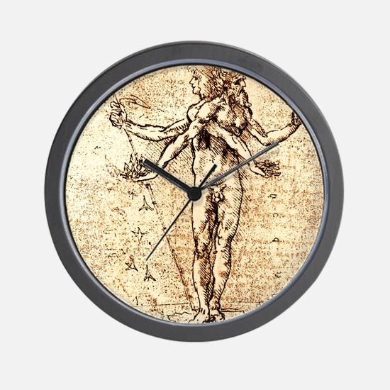 Pleasure and pain Wall Clock