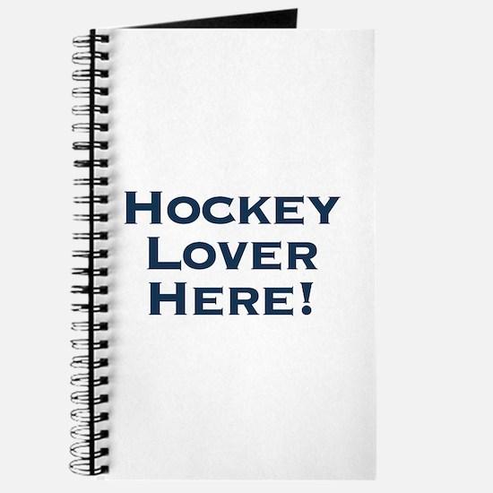 Hockey Lover Journal