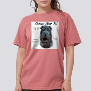 Shar-Pei (blue) Womens Comfort Colors Shirt
