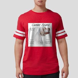 Clumber Spaniel Mens Football Shirt