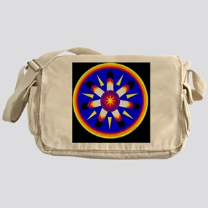 EAGLE FEATHER MEDALLION Messenger Bag