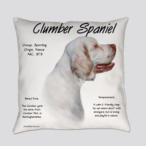 Clumber Spaniel Everyday Pillow