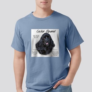 Cocker Spaniel (black) Mens Comfort Colors Shirt