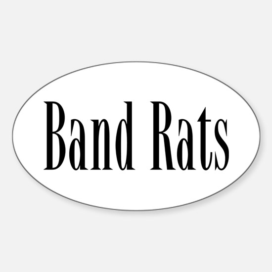 Band Rats Oval Decal