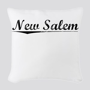New Salem, Vintage Woven Throw Pillow