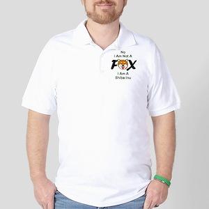 No I Am Not A Fox Golf Shirt