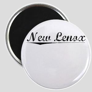 New Lenox, Vintage Magnet