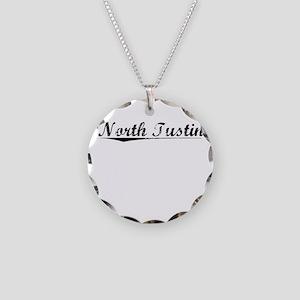 North Tustin, Vintage Necklace Circle Charm
