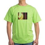 Photo Soundwaves Green T-Shirt