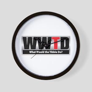 WW the Tibbie D Wall Clock