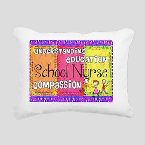School Nurse giger Rectangular Canvas Pillow