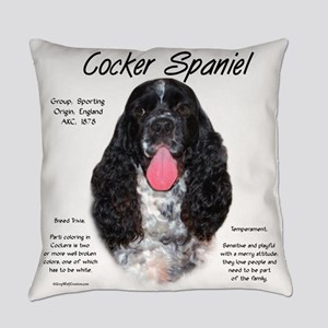 Parti Cocker Spaniel Everyday Pillow