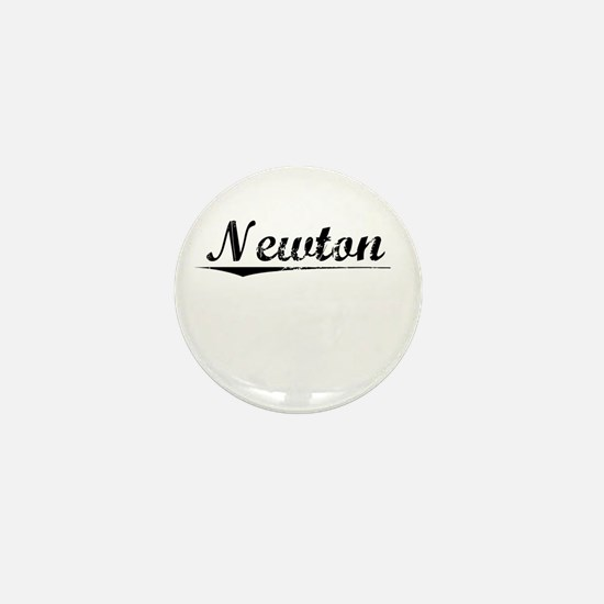 Newton, Vintage Mini Button