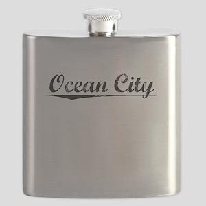 Ocean City, Vintage Flask