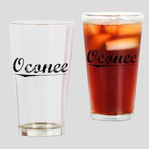 Oconee, Vintage Drinking Glass