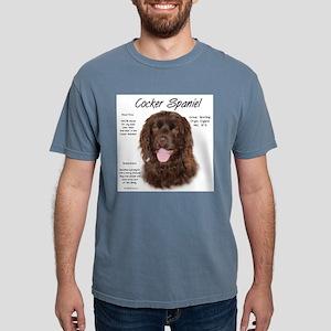 Cocker Spaniel (brown) Mens Comfort Colors Shirt