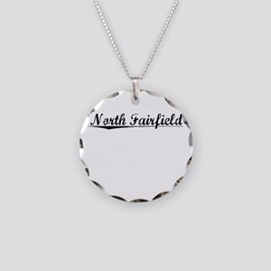 North Fairfield, Vintage Necklace Circle Charm