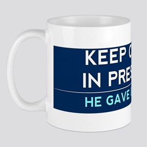 Keep Obama in President (Bumper) Mug