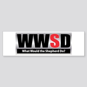 WW the Shepherd D Bumper Sticker