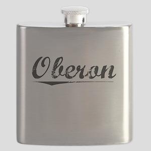 Oberon, Vintage Flask