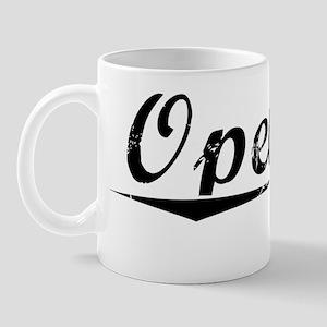 Opelika, Vintage Mug