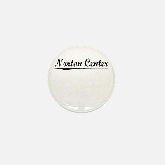 Norton Center, Vintage Mini Button