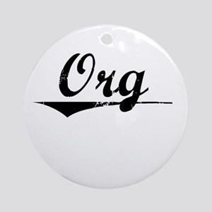 Org, Vintage Round Ornament