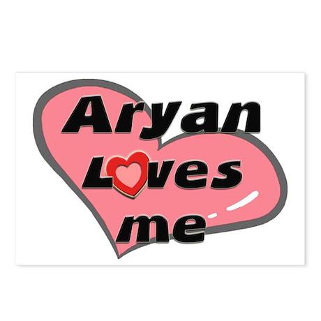 aryan loves me Postcards (Package of 8)