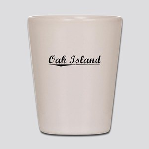 Oak Island, Vintage Shot Glass