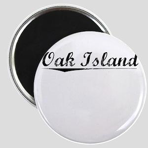 Oak Island, Vintage Magnet